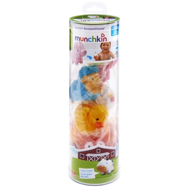 Munchkin игрушка для ванны Ферма 8 шт 9+