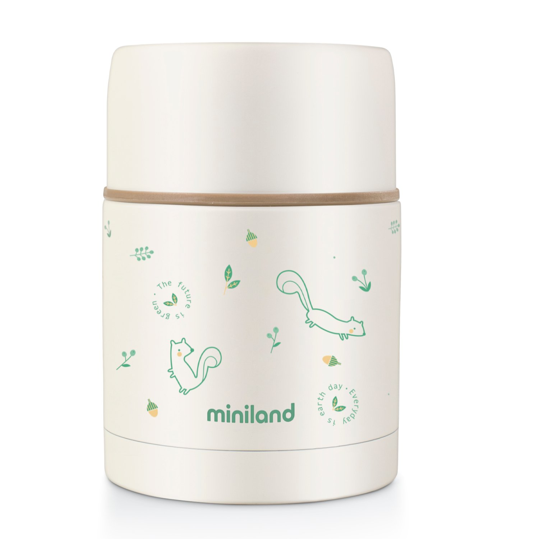 Детский термос для еды Miniland Natur Thermos 600 мл.
