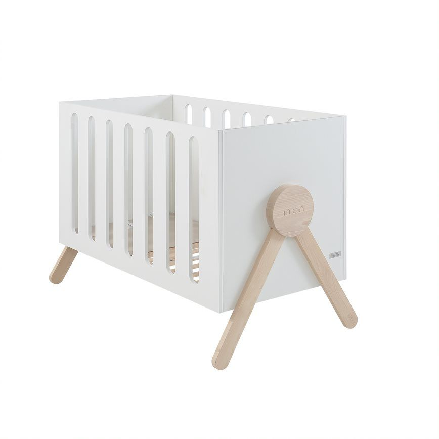 Кроватка Micuna Swing Relax 120*60 White/Waterwood