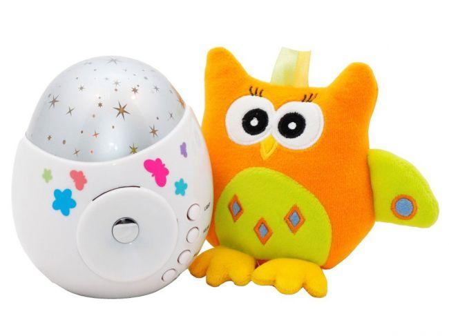 """Ночник- проектор звездного неба """"Колибри"""" и игрушка Roxy Kids"""