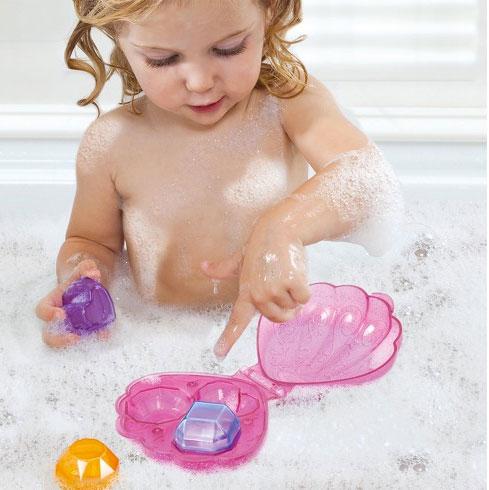 Munchkin игрушка для ванны Ракушка с весёлыми кристаллами 18+