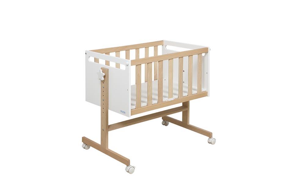 Колыбель Micuna You&Me МО-1838 Babybacter® Waterwood/White