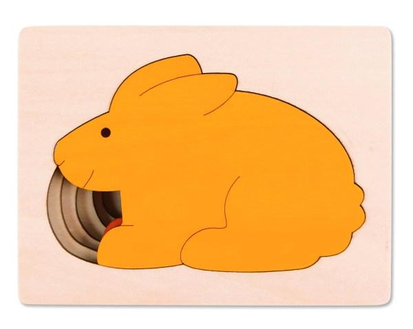 """Мозайка """"5 кроликов"""" Hape"""