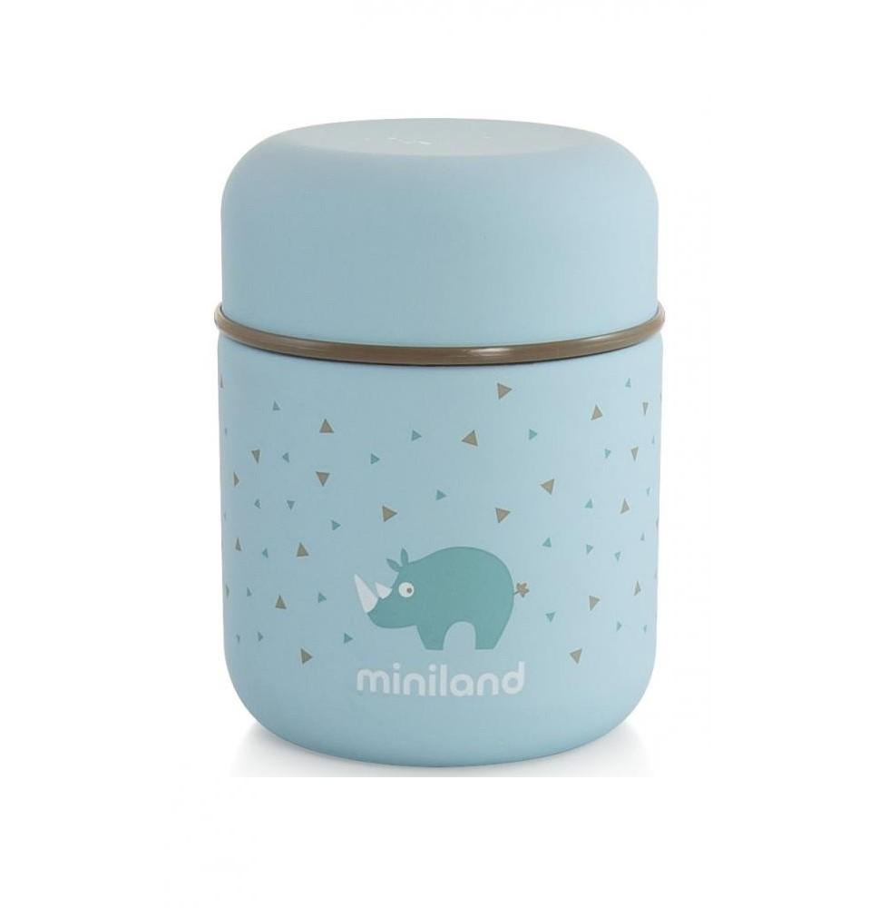 Детский термос для еды и жидкостей Miniland Silky Thermos Mini 280мл