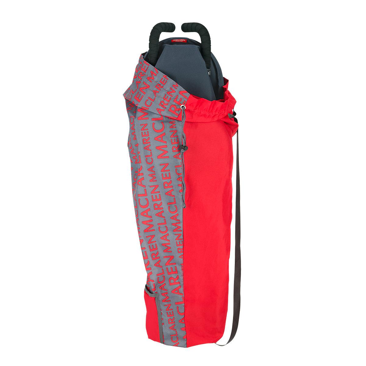 Сумка для переноски коляски Maclaren Lightweigt Storage Charcoal/Scarlet