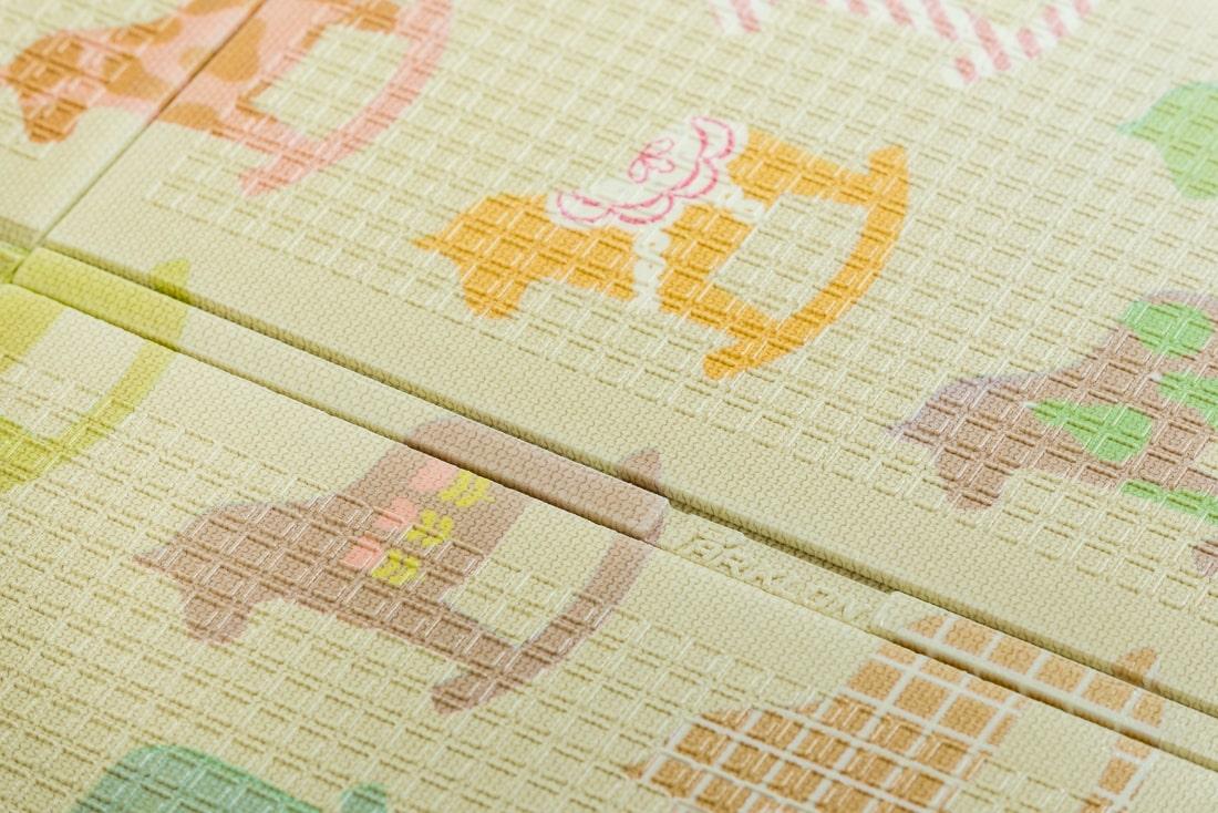 Портативный коврик Portable 140*200*1см Деревянные лошадки Parklon