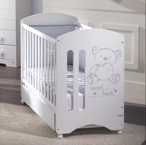Кроватка Micuna Sweet Bear 120х60