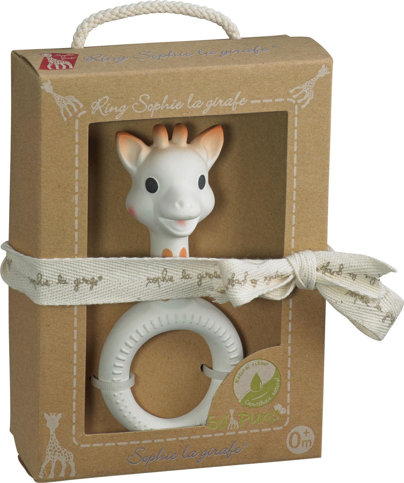 So'Pure Кольцо для прорезывания Sophie la girafe (сделано из 100% натурального каучука)