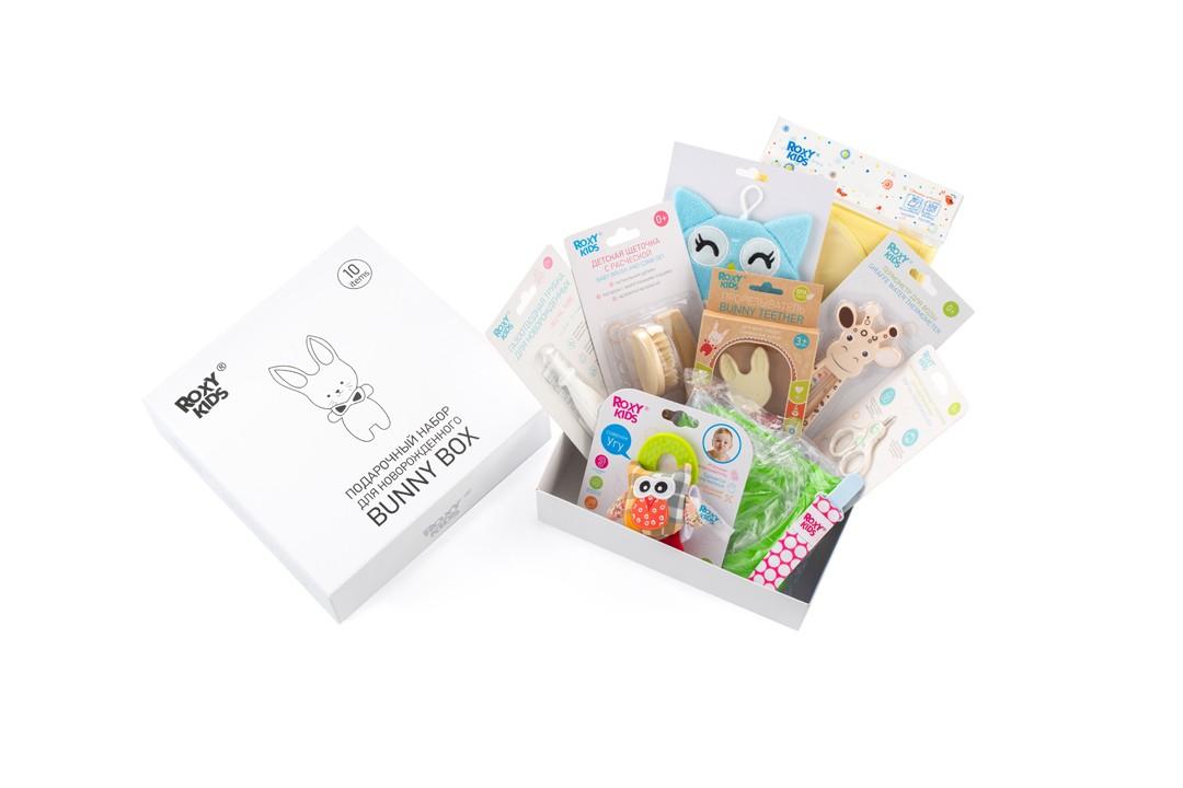 Подарочный набор для новорожденного Bunny Box Roxy Kids