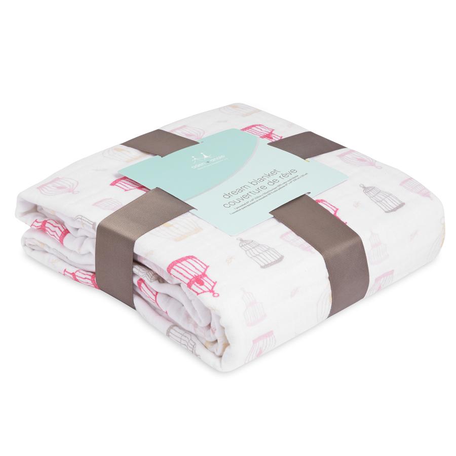 Одеяло из муслинового хлопка Love Bird aden+anais