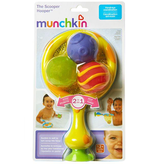 Munchkin игрушка для ванны 2в1 кольцо с мячиками-брызгалками 12+