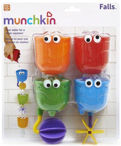 Munchkin игрушки для ванны Водопад 12+