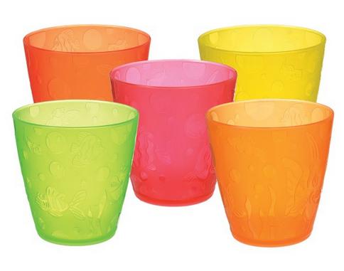 Munchkin набор цветных стаканчиков 237 мл 5шт. 6+