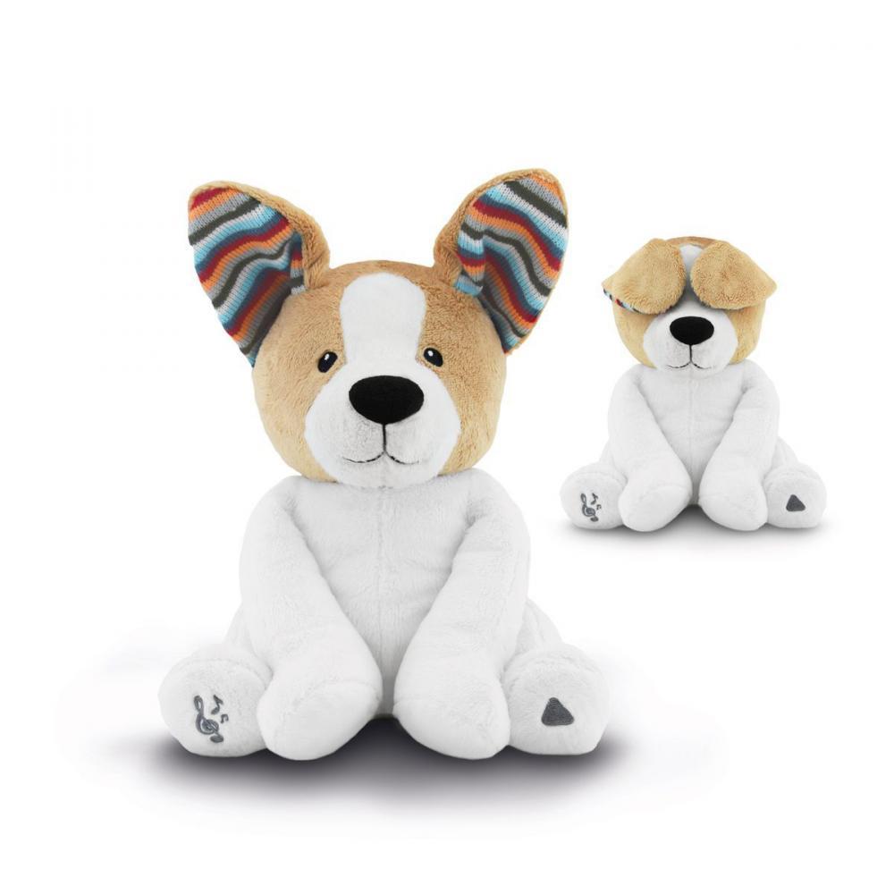 Мягкая игрушка для игры в прядки ZAZU, Собака Дэнни 1+