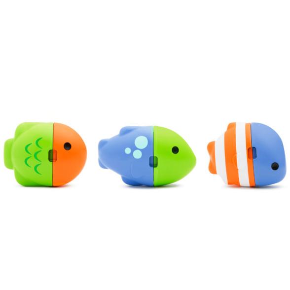 Munchkin игрушка для ванны цветные рыбки ColorMix Fish ™12+