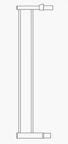 Munchkin Дополнительная секция к воротам 14см (белый)