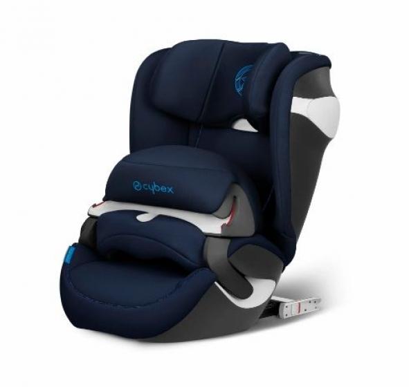 Автокресло детское Juno M-Fix Indigo Blue- navy blue (9-18кг) 9м+