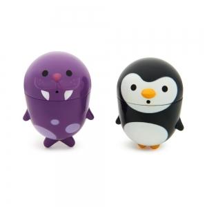 Munchkin игрушки для ванны пингвин и морж CleanSqueeze™ 9+