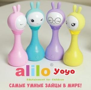 Музыкальная игрушка Умный Зайка,R1+ Yoyo