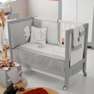 Бортики и покрывало для кроватки NEUS TX-700  120 X 60