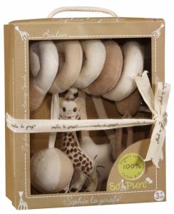 Спираль с висящимися игрушками Sophie la girafe