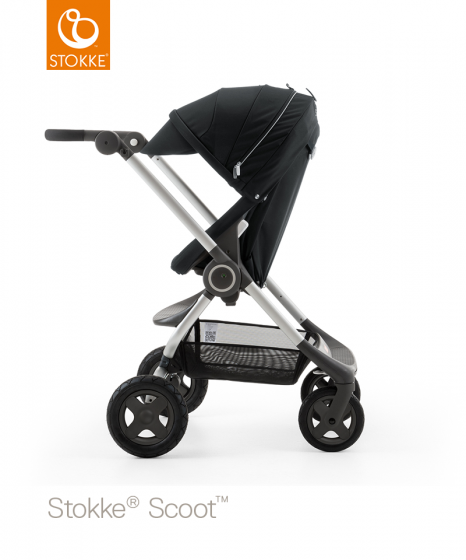 Stokke SCOOT V3 с сиденьем Black