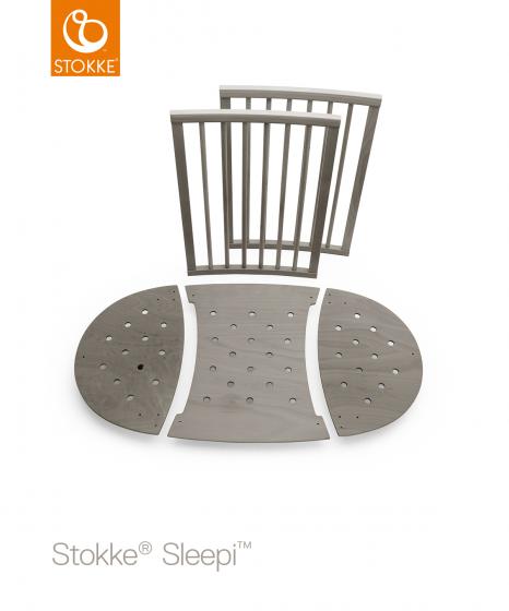 Дополнительная вставка к кроватке SLEEPI Bed Extension Hazy Grey