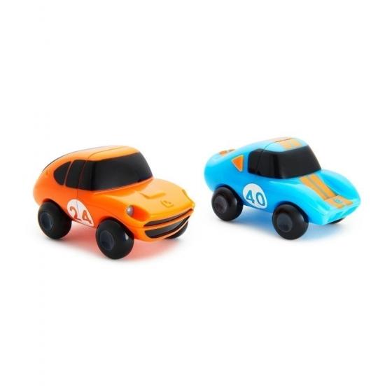 Munchkin игрушка для ванны Motors Magnet голубая-оранжевая 2шт. 18+