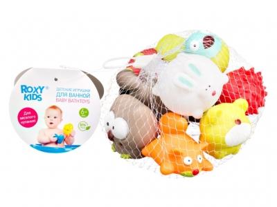 """Набор игрушек для ванной """"Лесные жители"""" Roxy Kids"""