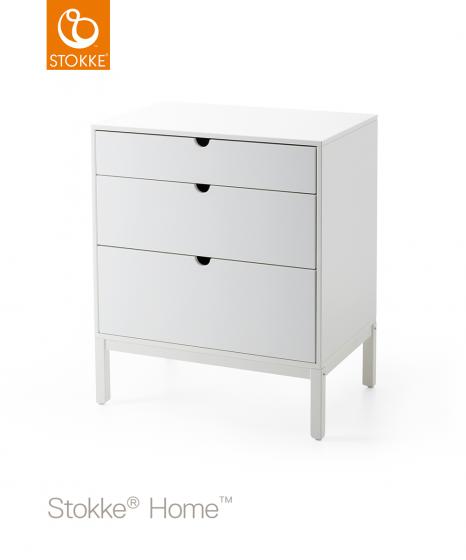 Комод Stokke Home Dresser Белый
