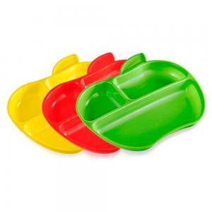 """Munchkin набор тарелок """"Яблоко"""" 3шт. 6+"""