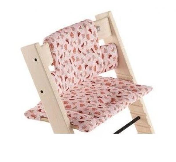 Подушка TRIPP TRAPP CUSHION, Розовые лисички