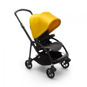 Прогулочная коляска Bugaboo Bee6 Black/Grey Melange/Lemon Yellow