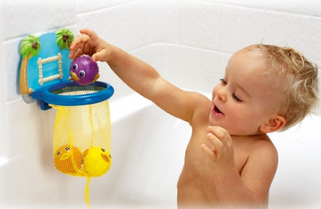 Munchkin игрушки для ванны Баскетбол от 12 мес