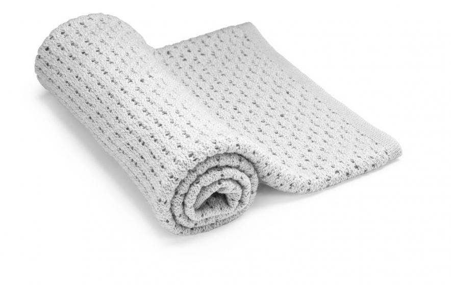 Stokke одеяло Merino Wool, Light grey