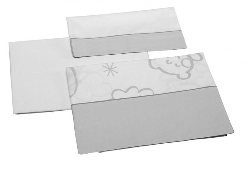 Сменный комплект белья 120х60 Micuna Dolce Luce Grey