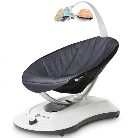Кресло-качалка 4moms RockaRoo Grey Mesh