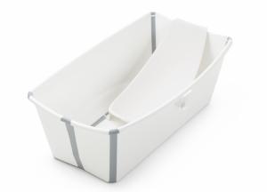 Набор Складная ванночка + поддержка для новорожденных Stokke Flexi Bath