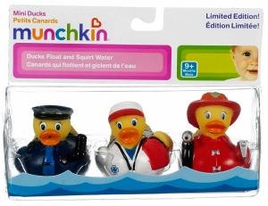 Munchkin игрушка для ванны Уточки 3 шт.9+