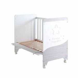Кроватка COSMIC WHITE/ASH 120*60