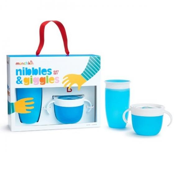 Munchkin подарочный набор Nibbles & Giggles™ , Голубой