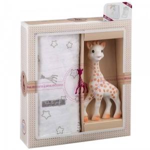 Набор Жираф Софи в подарочной упаковке Нежность