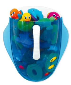 Munchkin органайзер-ковшик для игрушек в ванную от 6 мес.