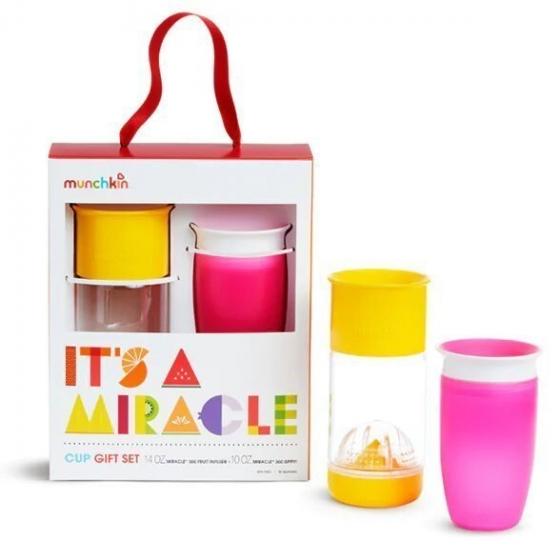 Munchkin подарочный набор It's a Miracle™ розовый/желтый 18+