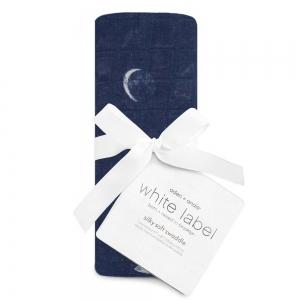 Бамбуковая пеленка White label Stargaze luna 120*120см