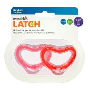 LATCH munchkin пустышка силиконовая 0+ 2 шт.