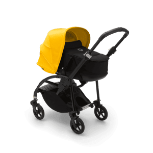 Коляска 2в1 Bugaboo Bee6 Black/Black/Lemon Yellow
