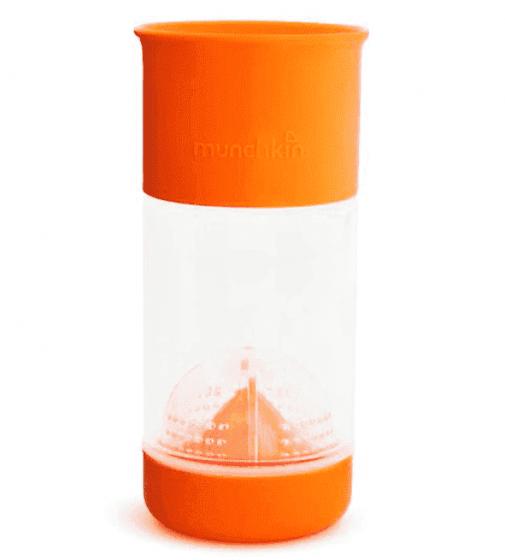 Munchkin поильник-непроливайка MIRACLE® 360° для фруктовой воды 360* 414мл от 4лет оранжевый