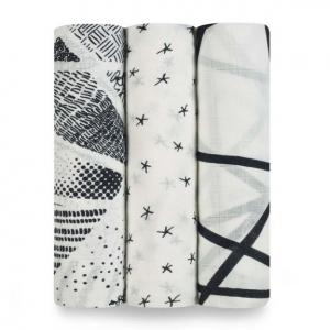 """Бамбуковые пеленки Aden&Anais, набор 3 шт. """"Midnight"""""""