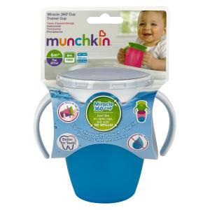 Munchkin поильник MIRACLE® 360° непроливайка с ручками 207мл. 6+